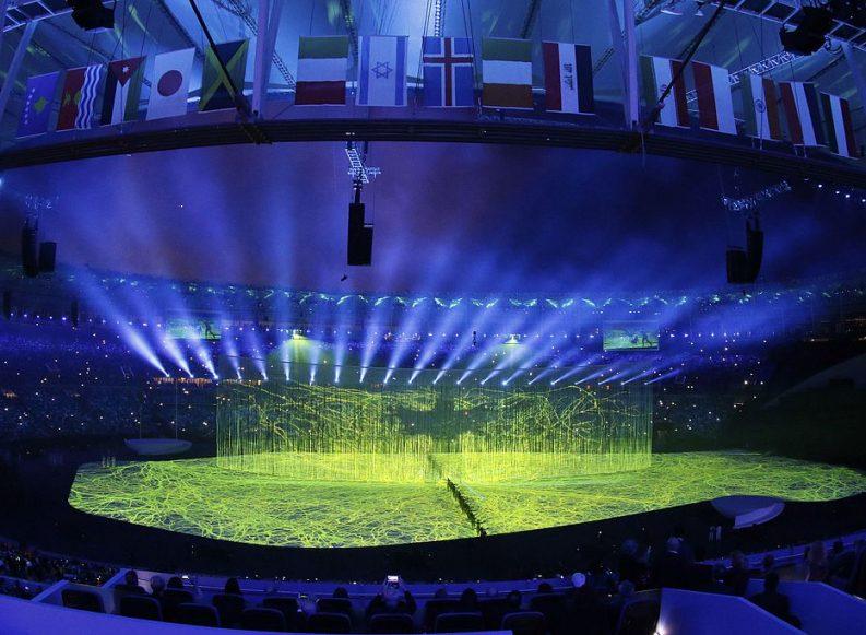 האולימפיאדה ה-31 נפתחה בטקס חגיגי