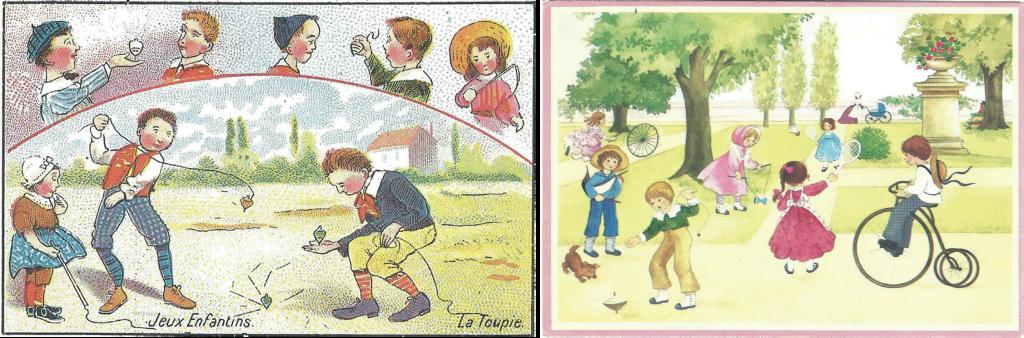 בתמונה: ילדים בפארק משחקים בפורפרה, בלגיה, פעלולי פורפרות, צרפת