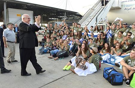 העלייה לישראל 2016