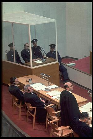 תא הזכוכית של אדולף אייכמן חזר לארץ