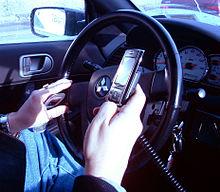 השימוש בטלפון סלולרי מעלה את הסיכון לתאונות דרכים