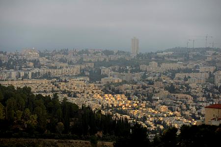 ירושלים היא העיר הגדולה בישראל
